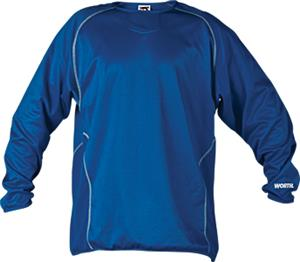 Worth Men's Long Sleeve Baseball Pullovers
