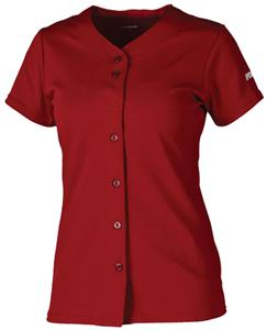 Worth Womens & Girls Full-Button Softball Jerseys