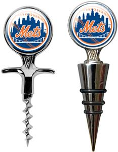 MLB New York Mets Cork Screw & Bottle Topper