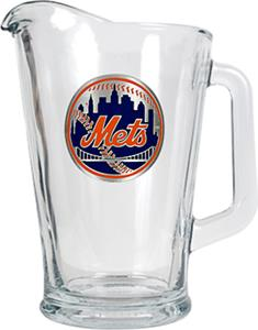MLB New York Mets 1/2 Gallon Glass Pitcher
