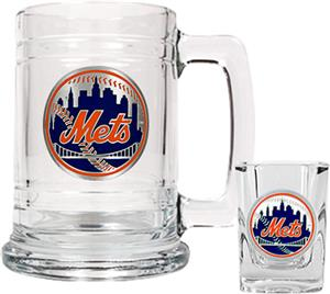MLB New York Mets Boilermaker Gift Set