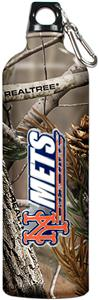 MLB Mets RealTree Aluminum Water Bottle