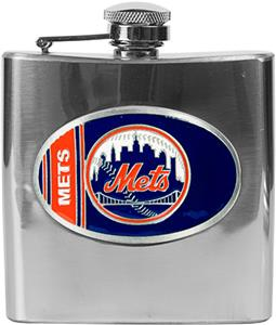 MLB New York Mets 6oz Stainless Steel Flask