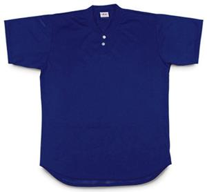 A4 2-Button Henley Youth Baseball Jersey CO
