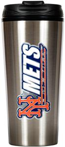 MLB New York Mets 16oz Stainless Travel Tumbler