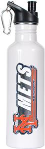 MLB New York Mets White Stainless Water Bottle