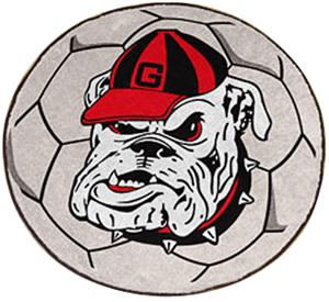 Fan Mats University of Georgia Soccer Ball.
