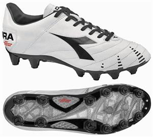 Diadora Evoluzione K Pro GX 14 Soccer Cleats-White