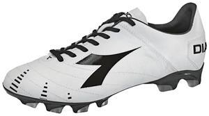 Diadora Evoluzione K BX 14 Soccer Cleats - White