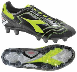 Diadora DD-Solano Plus GX 14 Soccer Cleats - Black