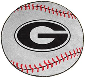 Fan Mats University of Georgia Baseball Mat