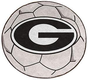 Fan Mats University of Georgia Soccer Ball