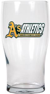 MLB Oakland Athletics 20oz Pub Glass