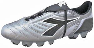 Diadora Maracana RTX 12 Soccer Cleats - Silver