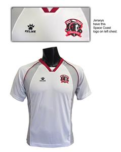 Kelme SCU Polyester Soccer Jerseys-Closeout