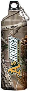 MLB Athletics RealTree Aluminum Water Bottle