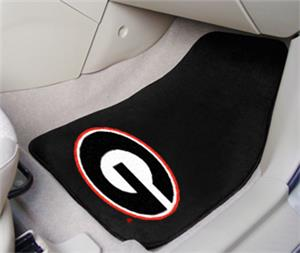 Fan Mats University of Georgia Carpet Car Mats