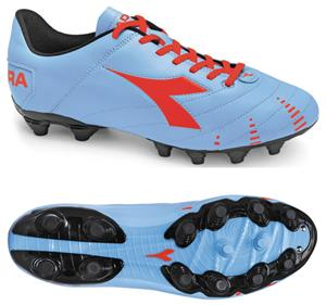 Diadora Evoluzione R MG 14 Soccer Cleats - Blue