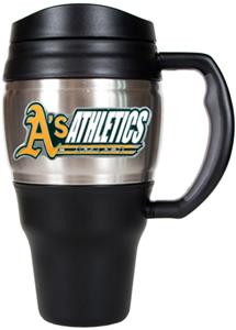 MLB Oakland Athletics Stainless 20oz Travel Mug