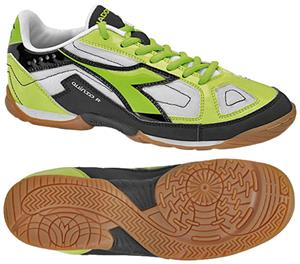 Diadora Quinto R ID Futsal Soccer Shoes - Black