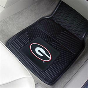Fan Mats Univ of Georgia Vinyl Car Mats (set)