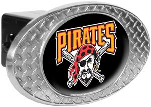 MLB Pittsburgh Pirates Diamond Plate Hitch Cover
