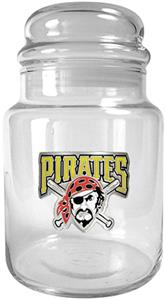 MLB Pittsburgh Pirates Glass Candy Jar