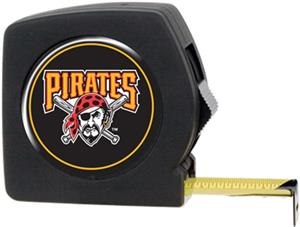 MLB Pirates 25' Tape Measure Crystal Coat Logo