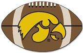 Fan Mats University of Iowa Football Mat