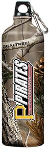 MLB Pirates RealTree Aluminum Water Bottle