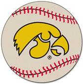 Fan Mats University of Iowa Baseball Mat.