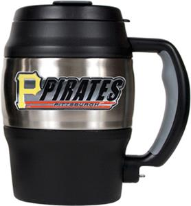 MLB Pirates 20oz Stainless Steel Mini Jug