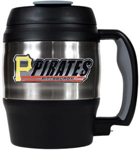 MLB Pirates 52oz Stainless Macho Travel Mug