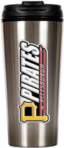 MLB Pirates 16oz Stainless Travel Tumbler