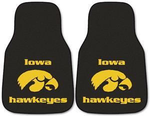 Fan Mats University of Iowa Carpet Car Mats PR
