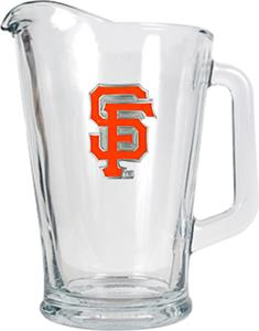 MLB San Francisco Giants 1/2 Gallon Glass Pitcher