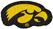 Fan Mats University of Iowa Mascot Mat