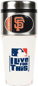 MLB San Francisco Giants Gameball Travel Tumbler