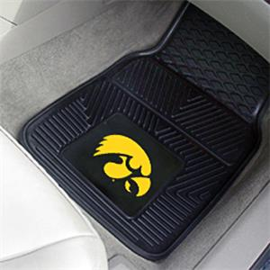 Fan Mats University of Iowa Vinyl Car Mats (set)