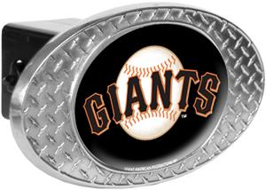 MLB San Francisco Giants Diamond Plate Hitch Cover