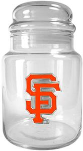 MLB San Francisco Giants Glass Candy Jar