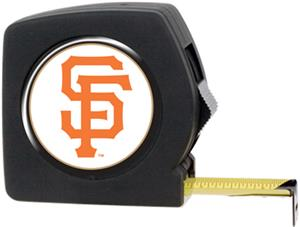 MLB Giants 25' Tape Measure Crystal Coat Logo