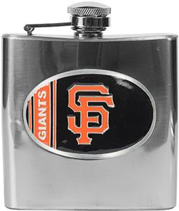 MLB San Francisco Giants 6oz Stainless Steel Flask