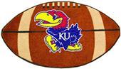 Fan Mats University of Kansas Football Mat