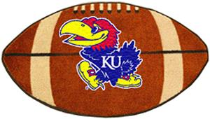 Fan Mats University of Kansas Football Mat