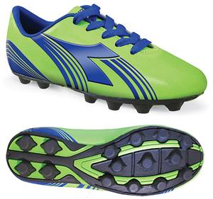 Diadora Avanti MD JR Soccer Cleats - Lime Green