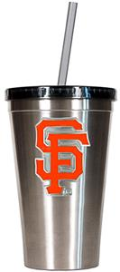 MLB San Francisco Giants Stainless Tumbler w/Straw