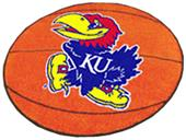 Fan Mats University of Kansas Basketball Mat