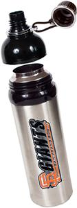 MLB Giants Stainless Water Bottle w/Black Top
