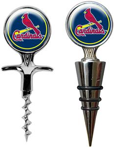 MLB St. Louis Cardinals Cork Screw & Bottle Topper